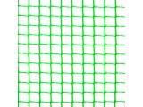 Фото 3 Сетка пластиковая садовая Клевер 13х13 мм 1х20 м зеленая 332152