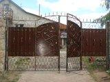 Фото  1 Ворота кованые новые . Ровно kovalstvo.com.ua Готовые и под заказ . Сложность любая.Откатные .Розпашные. 1029085