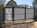Фото 2 Ворота распашные,ворота кованые,ворота въездные,ворота с профлиста 331614