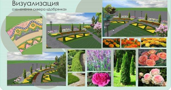 Фото 5 Ландшафтний дизайн 3D. Озеленення ділянки, саду. Автополив. Кривий Ріг 336618