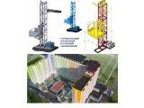Фото  4 Н-77 м, г/п 2000 кг, 2 тонны. Мачтовый секционный подъёмник грузовой строительный для отделочных работ. 2020455