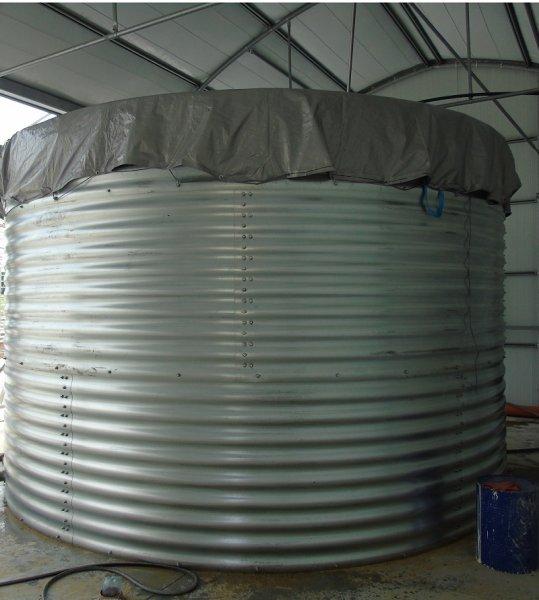Фото 1 Пожарный резервуар на 500 кубов для воды, емкость 500 м3 339877