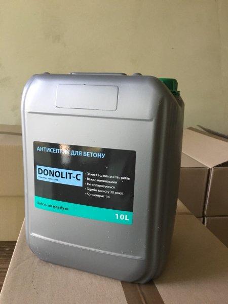 Фото  1 Антисептик по бетону DONOLIT-C (канистра 10 литров) 2250416