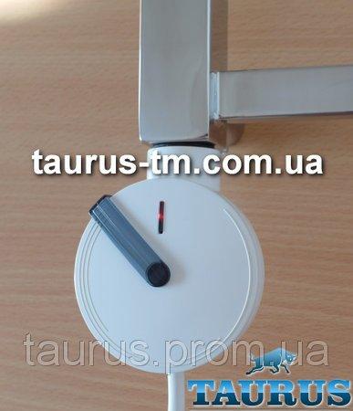 Фото  1 Белый круглый дизайнерский электроТЭН с электронным регулятором + таймер 2 ч. Польша, разборной, поворотный 1864056