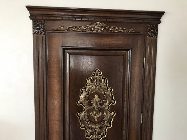 Фото 4 Міжкімнатні двері, Різьба, Патина, Дуб 324019