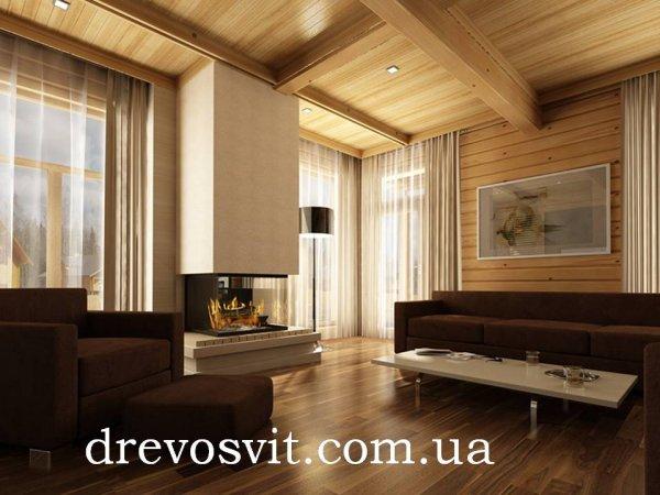 Фото  1 Вагонка дерев'яна сосна. Розміри: 80*14*2000мм. Вагонка: суха, шліфована, цілісна. Доставка. Ціни від виробника. 1856395