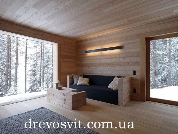 Деревяна шпунтована, суха дошка для підлоги. Сосна 1-й сорт 125*35*4000мм. Ціни від виробника. Доставка.
