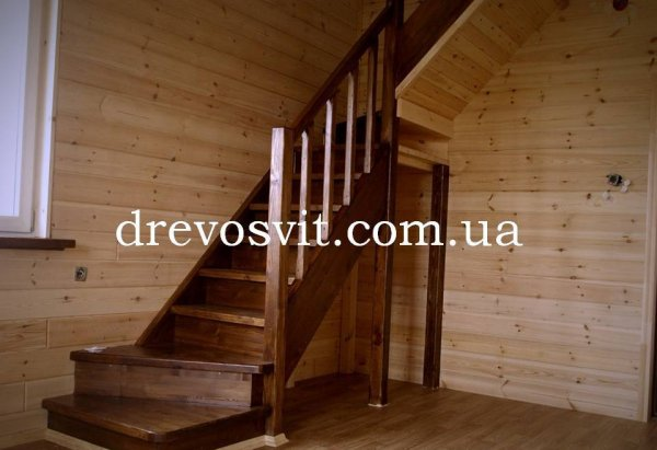 Фото  1 Вагонка деревяна сосна (1 і 2 сорти). Європрофіль. Цілісна та шліфована. Розміри: 88*14*2500,3000мм. 1972872