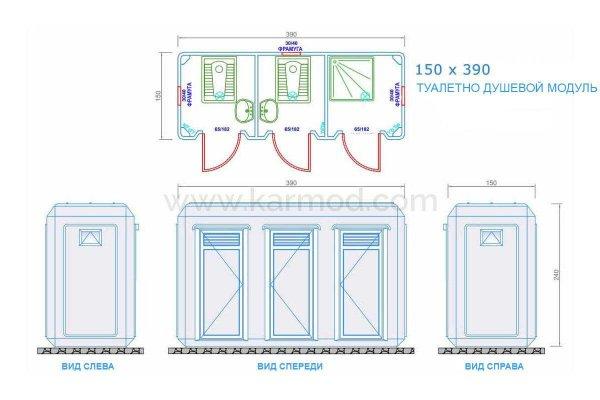 Фото 2 150x390 Туалетні та душові модулі 339741