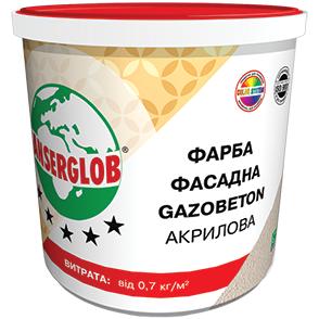 Фото  1 Краска Anserglob фасадная Gazobeton акриловая 1807254
