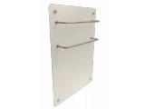 ИК стеклокерамический полотенцесушитель-обогреватель 2 в 1 HGlass GHT 5010 белый 550/275 Вт