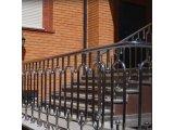 Фото  8 Перила, поручень, ограждение, балкон Н/Ж сталь. Зеркальная полировка. 48830