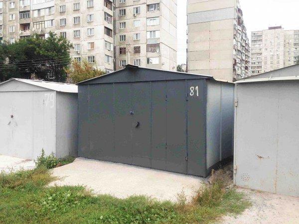 Фото 2 Металевий гараж зі сталі 1,2 мм 303252