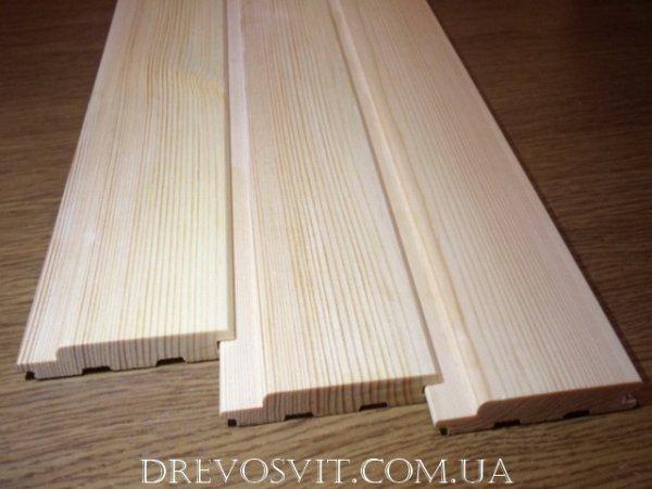 Фото 5 Вагонка деревяна сосна Судова Вишня 326964