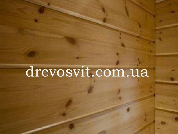 Фото  1 Вагонка сосна: суха, шліфована, цілісна, екологічно-чиста. Розміри: 80*14*2000мм. Доставка. 1972858
