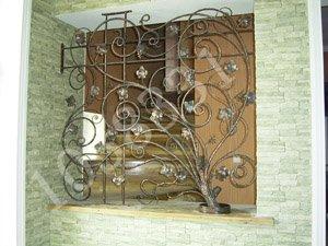 Фото 7 Решетки на окна кованые .грати на вікна. ограждения. 336330