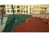 Фото 2 Резиновая напольная плитка, резиновое покрытие СПОРТФЛЕКС, терракот 336936