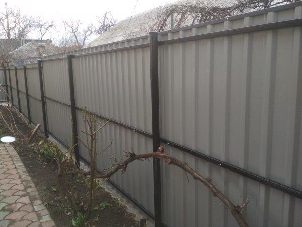 Фото 3 Забор из профнастила Черкассы 337935