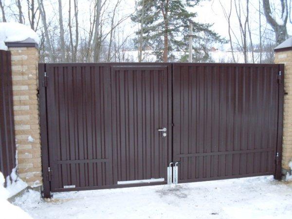 Фото 4 Ворота распашные,ворота кованые,ворота въездные,ворота с профлиста 331614