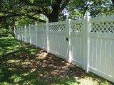 Фото  2 Пластиковые заборы (ПВХ) глухие с решетками. 290256