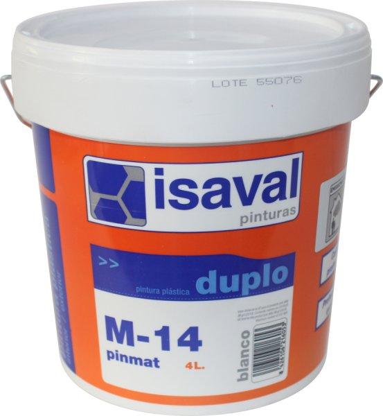 Фото  1 Глубокоматовая краска для потолков и стен М-14 Пинмат ISAVAL 4л до 32м2 1921999