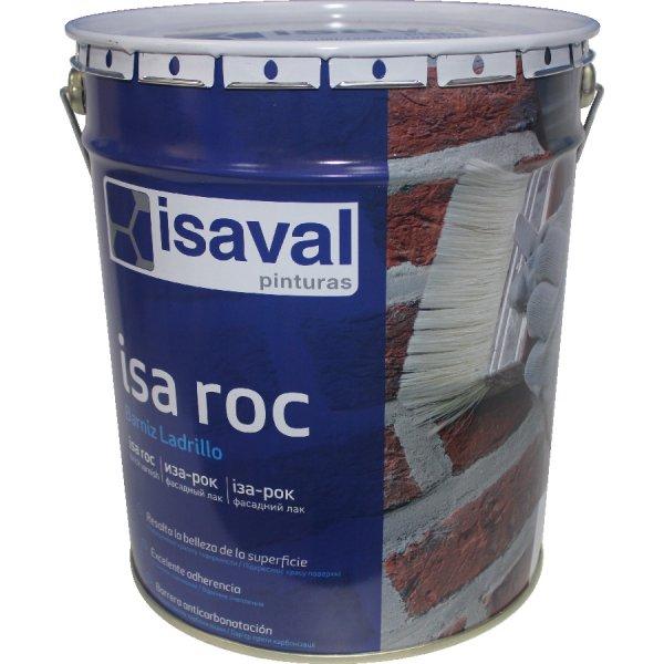 Фото  1 Лак для камня фасадный гидроизоляционный «мокрый камень» Иза-Рок 16л ISAVAL 1859146