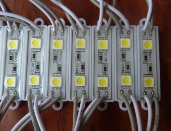 Светодиодный модуль LFT40112W SMD5050 белый для рекламной и интерьерной подсветки, 40 лм, 0,48 Вт