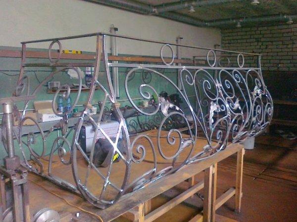 Фото  1 кованые балконы 1910451