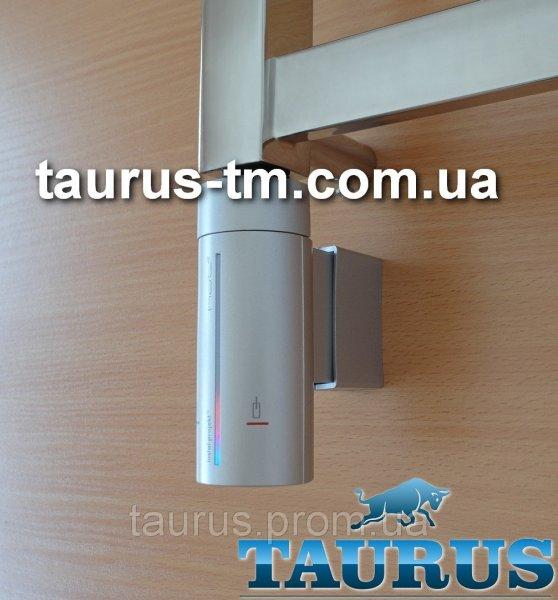 Фото  1 Сенсорный ТЭН InstalProjekt HOT2 N0 (MS) Silver: регулировка +таймер до 8ч; LED-подсветка +маскировка провода. Серый 1885625