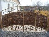 Фото  6 Ворота кованые новые . Ровно kovalstvo.com.ua Готовые и под заказ . Сложность любая.Откатные .Розпашные. 6029085