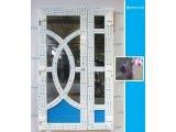 Фото  1 Двері металопластикові 1200*2100- вхідна група Т-104.Фурнітура Массо.Виготовлення дверей під замовлення.0987050023 1448000