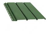 Панель софит перфорированная, цвет: зеленый