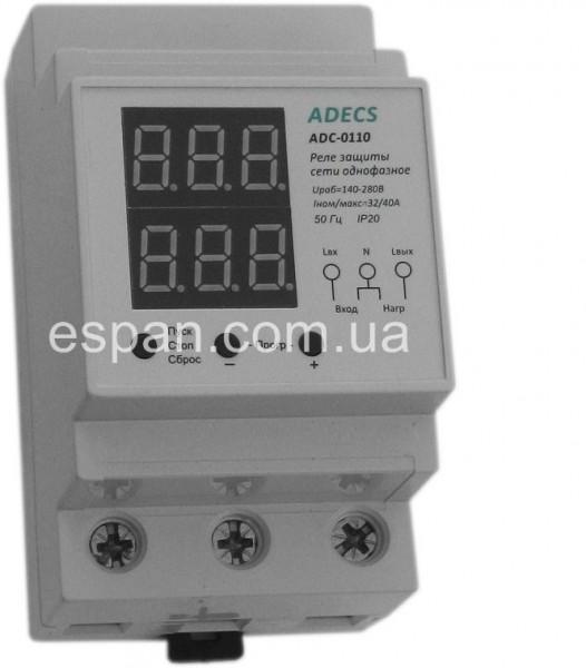 Реле напряжения многофункциональное ADECS ADC-0111-40 (40А)