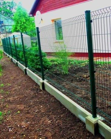 Фото 6 Цоколь для 3D секційного паркану, звареної сітки, кованого паркану 332606