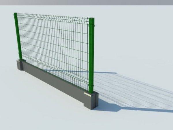 Фото 2 Цоколь для 3D секційного паркану, звареної сітки, кованого паркану 332606