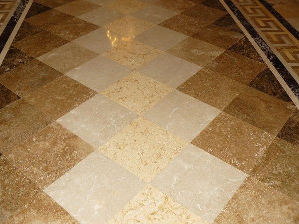Фото 2 Мраморные полы, гранитные полы, мозаика, плитка, брусчатка 328119