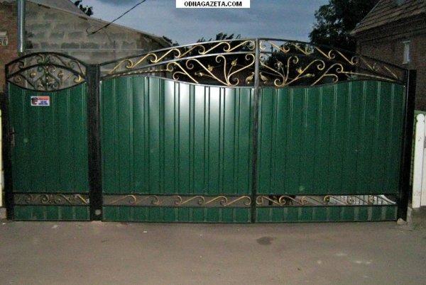 Фото 2 Распашные ворота,въездные ворота,Кривой Рог 331684