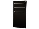 Инфракрасная стеклокерамическая сушилка для полотенец Hglass GHT 5010 чёрная 550/275 Вт