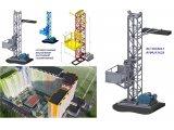Фото  4 Н-79 м, г/п 2000 кг, 2 тонны. Грузовые строительные подъёмники мачтовые секционные для отделочных работ. 2020454