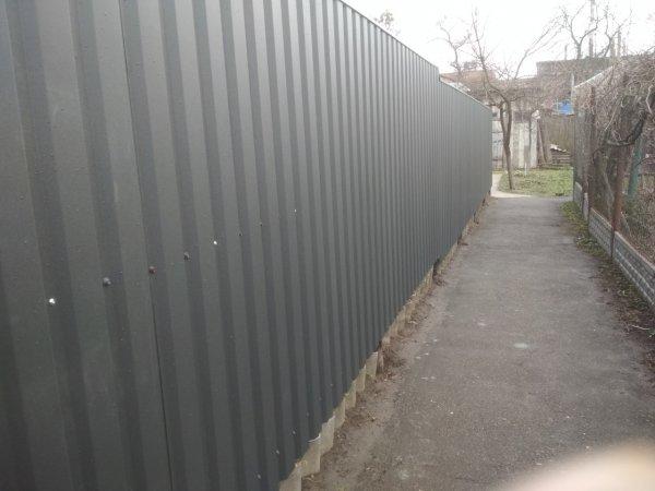 Фото 2 Забор из профнастила Черкассы 337935