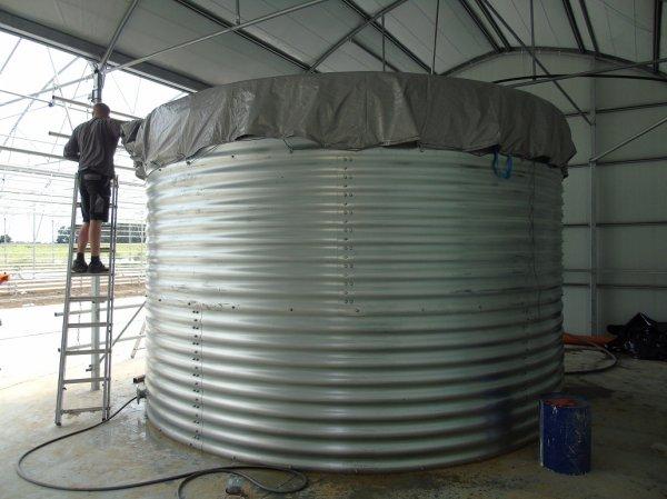 Фото 2 Пожарный резервуар на 1000 кубов для воды, емкость 1000 м3 339879