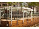 Фото  6 Ограждения террасы нержавейка стекло 222767
