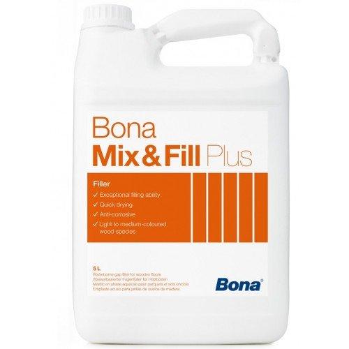 Фото  1 Bona Mix & Fill plus Бона Микс Филл Плюс водная шпаклевка для паркета 322917