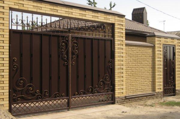 Фото 5 Распашные ворота,въездные ворота,Кривой Рог 331684