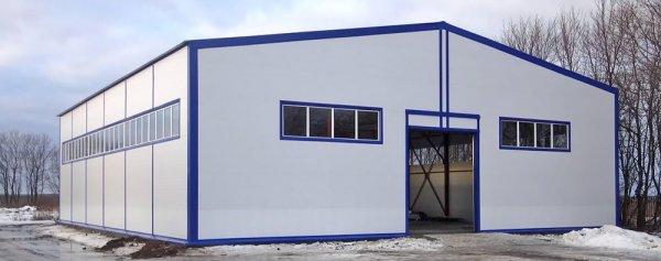 Фото 1 Быстровозводимые здания из металлоконструкций 332764
