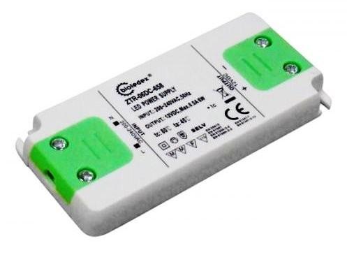 Компактный термостойкий трансформатор Bioledex AC220V / DC12V 6Вт 0,5А