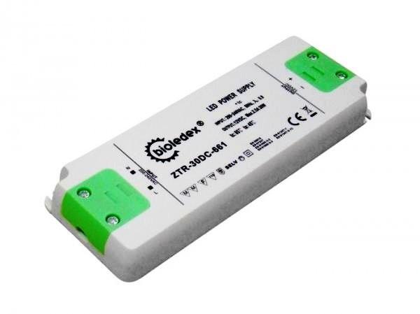 Компактный термостойкий трансформатор Bioledex AC220V / DC12V 30Вт 2,5А