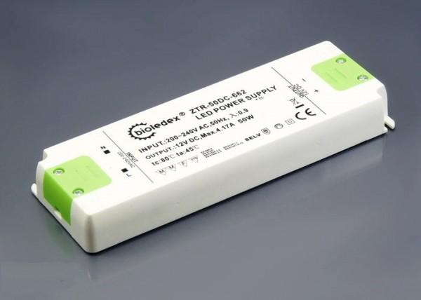 Компактный термостойкий трансформатор Bioledex AC220V / DC12V 50Вт 4,17А