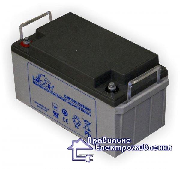Фото  1 Аккумуляторная батарея LEOCH DJM1265 424731