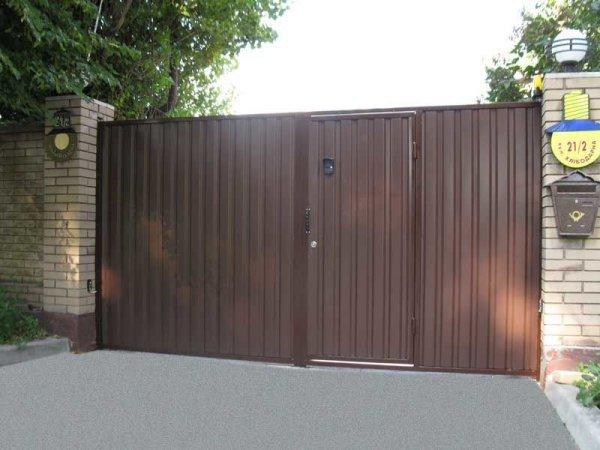Фото 7 Распашные ворота,въездные ворота,Кривой Рог 331684